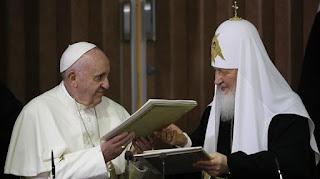 El Papa Francisco en Rusia