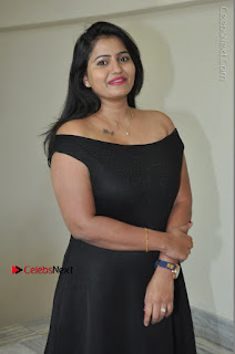 Telugu Actress Swathi Reddy Latest Stills in Black Gown  0024.JPG