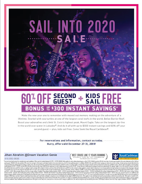 royal caribbean december 2020