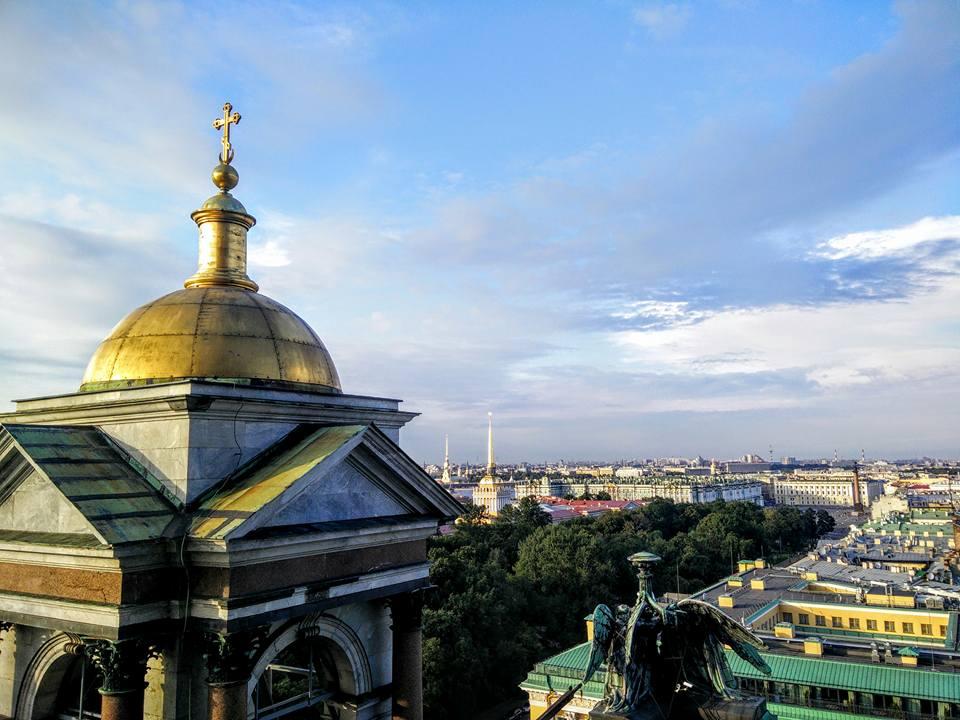Russie Saint Petersbourg  Cathédrale Saint Isaac
