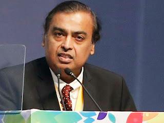 Mukesh Smbani Reliance Industry
