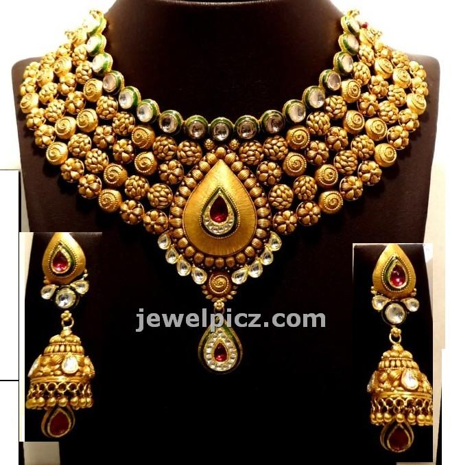 ed415c543704a Gitanjali jewellers Gold Necklace models - Latest Jewellery Designs
