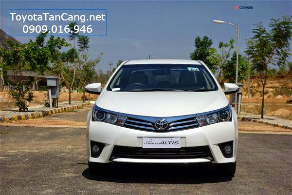 toyota corolla altis 2015 toyota tan cang 2 - Trải nghiệm Toyota Corolla Altis 2015: Tin cậy đến từng chi tiết - Muaxegiatot.vn