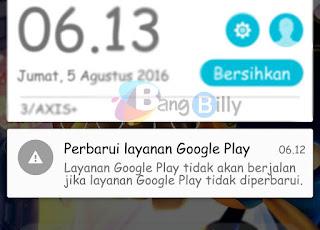 Perbarui Layanan Google Play
