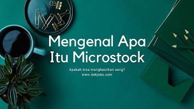 Apa itu microstock