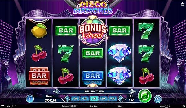 Main Gratis Slot Indonesia - Disco Diamonds (Play N GO)