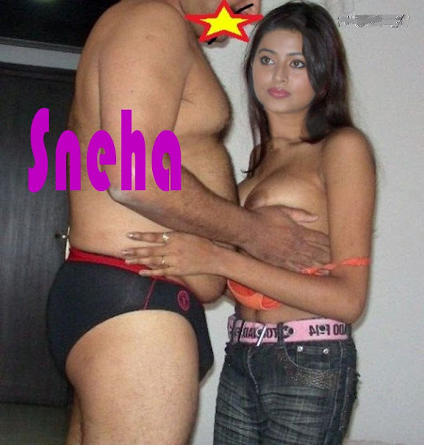 Film producer pressing Sneha topless boobs without bra for movie chance