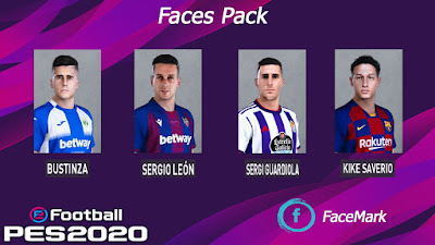 PES 2020 Facepack 6 by Mark
