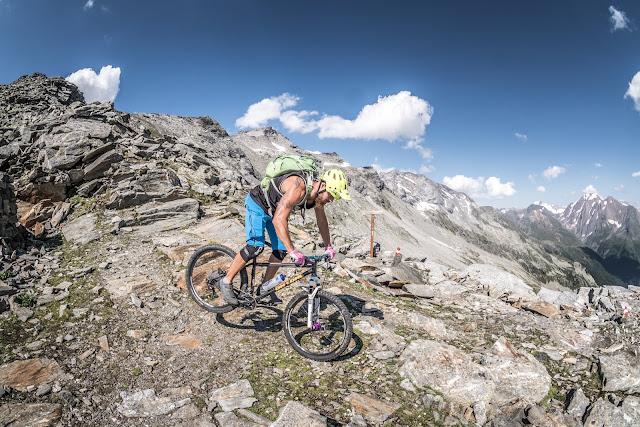 Mountainbiken Südtirol Dolomiten Zillertaler Alpen