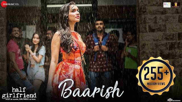 baarish lyrics - Ash King & Shashaa Tirupati