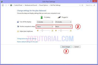 2 Cara Agar Laptop & PC Tidak Sleep Otomatis di Windows 10, 8, 7