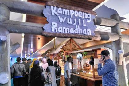 Kampoeng Wujil Ramadhan dan Berbuka Bersama Anak Yatim di The Wujil Ungaran