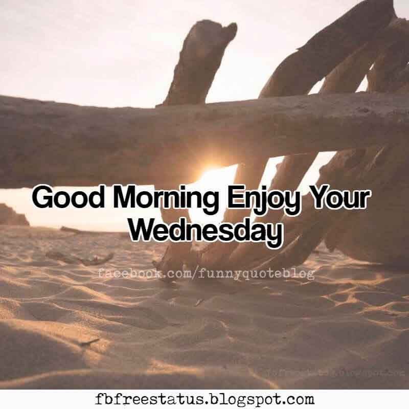 Good Morning Enjoy Your Wednesday. Happy Wednesday!