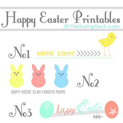 Happy Easter Printables Image