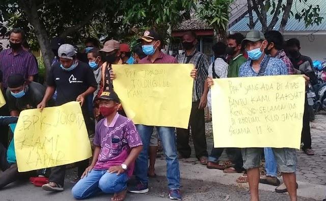 Petani Plasma Kelapa Sawit Keluhkan Hasil ke Kejaksaan Negeri Batola