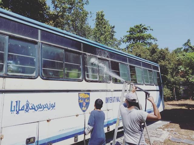 bas lama um ditukar menjadi airbnb