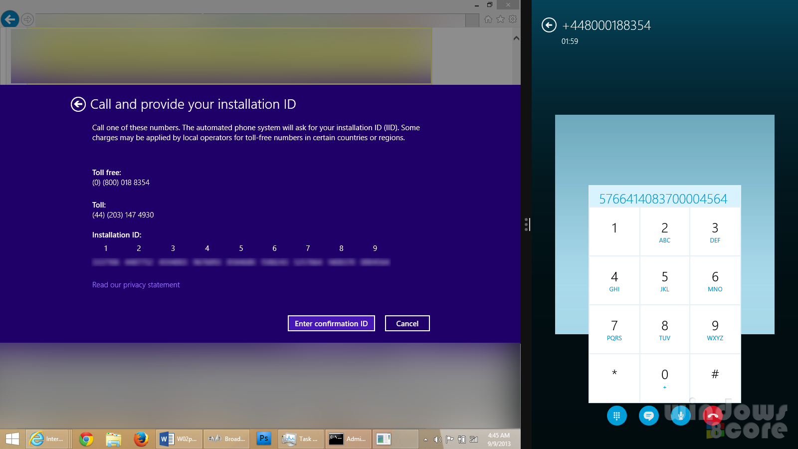 Activation Windows 10 - 8 1 by One Call skype - Original