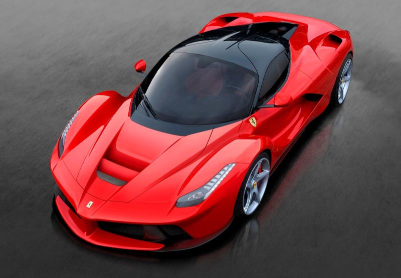 Vận tốc kinh ngạc của siêu xe Ferrari LaFerrari