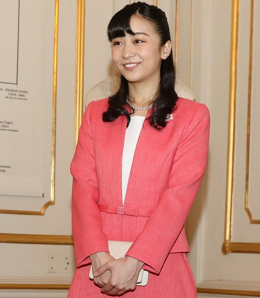 Princess Kako visited Sisi Museum at Schönbrunn Palace in Vienna