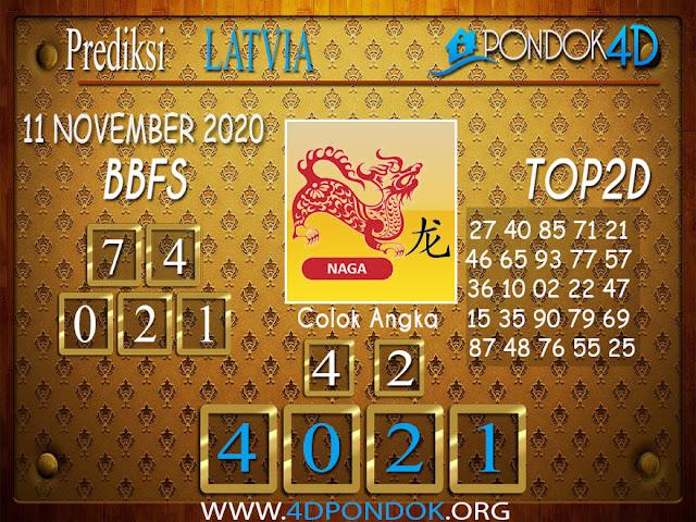 Prediksi Togel LATVIA PONDOK4D 11 NOVEMBER 2020