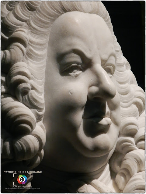 NANCY (54) - Musée des Beaux Ars : Buste de Stanislas Leszczynski