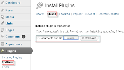 Upload and Install a WordPress Plugins
