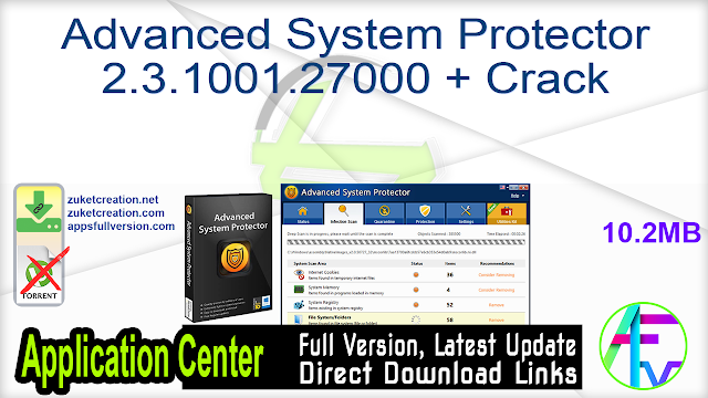 Advanced System Protector 2.3.1001.27000 + Crack