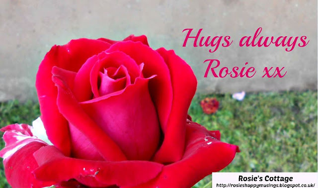 Hugs Always Honeys, Rosie xx