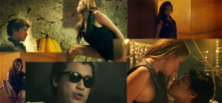 Once again the singer and song writer Elly Buendia launched another music video. Together with the model and sexy actress Ellen Adarna - Elly directed the song 'IKOT' music with his current group band 'The Oktaves'  The video was uploaded in YouTube with 4:43 minute long with ballad genre music. Ellen Adarna is also attractive in her seducing movements from the classic ambiance of the music video.