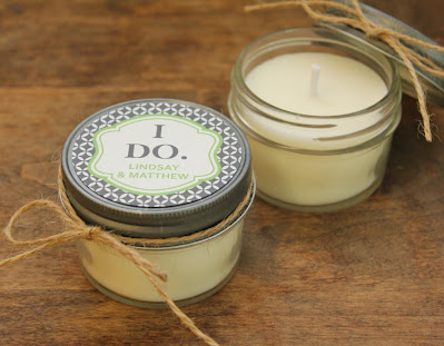 Wedding Candle Favors