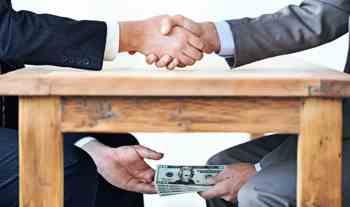 الرشوة والفساد