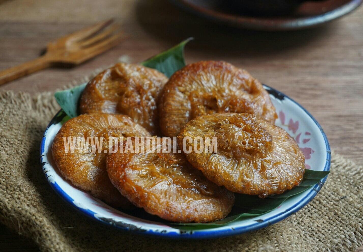 Diah Didi S Kitchen Kue Cucur Gula Merah