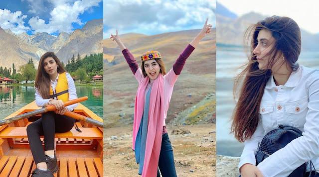 Mushk Star Urwa Hocane Mesmerizing Pictures from Skardu