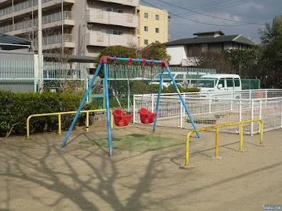 天王田楠根公園ブランコ