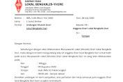 Undangan Musyawarah Orari Lokal Duri Bengkalis Ke 1