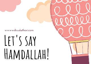Let's Say Hamdallah Together