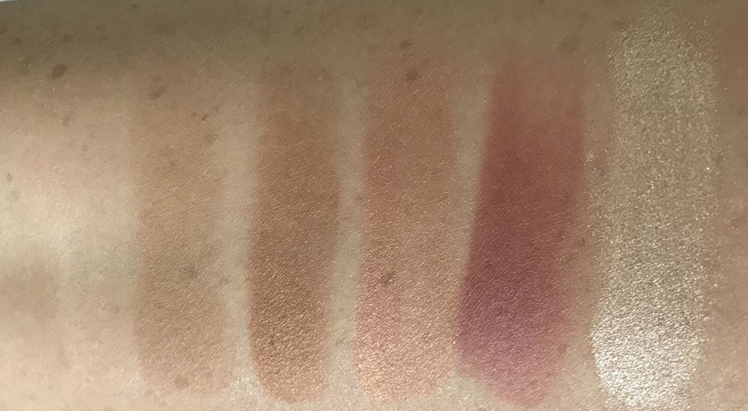 Hourglass Ambient Lighting Edit Unlocked Palette Review & Swatches