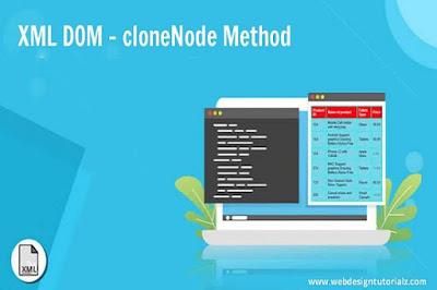 XML DOM - cloneNode Method