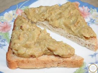 Reteta salata de vinete pe paine traditionala dobrogeana taraneasca romaneasca cu usturoi de post retete culinare de mancare salate gustari si aperitive de casa,