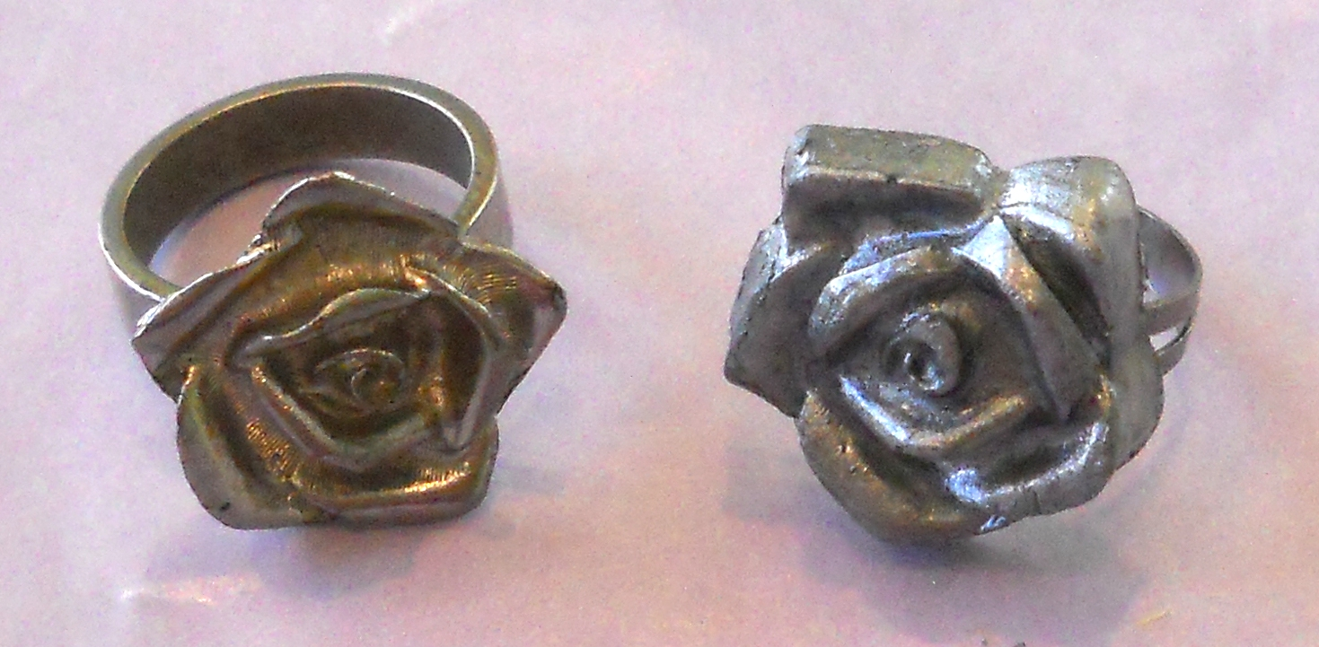pewter products rings rose casting amazing ring