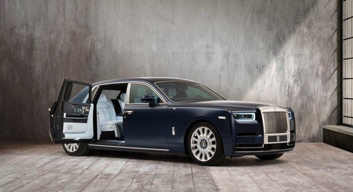 Rolls-Royce Phantom phiên bản 'hoa hồng' độc nhất thế giới