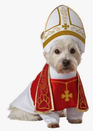 Pope costume for dogs