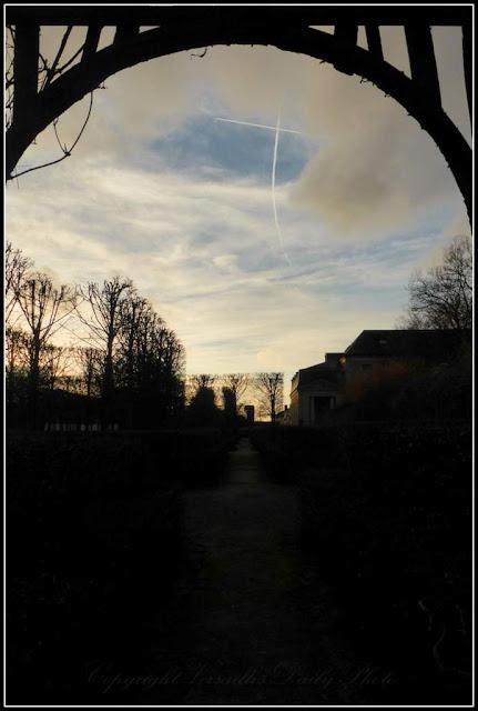 Petit Trianon pergolas
