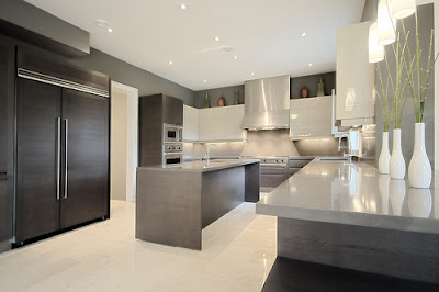 Contemporary Modern Kitchen Afreakatheart