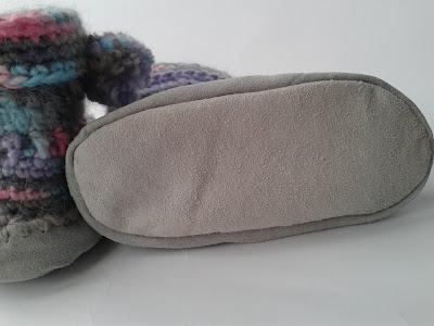 come fare scarpe pantofole all'uncinetto spiegazione