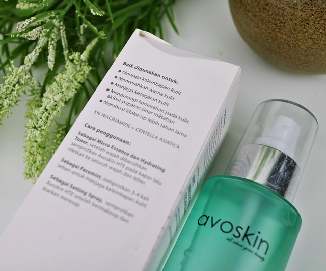 Review Face Mist Avoskin New Formula
