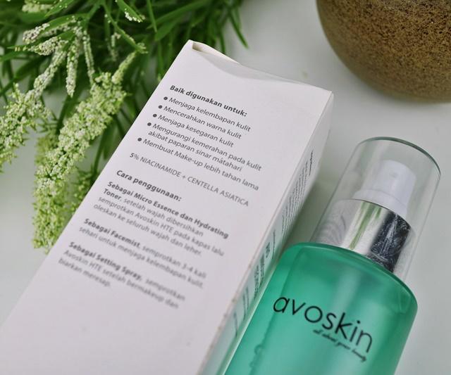 Review Face Mist Avoskin New Formula