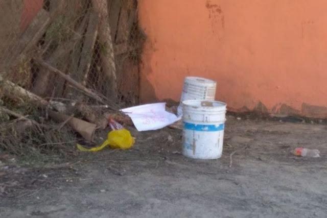 """Encuentran cabeza y brazos cercenados con """"narcomensaje"""" en Tijuana hay tres ejecutados más"""