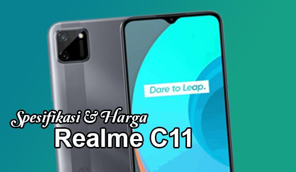 Spesifikasi Realme C11 2020, Harga Cuma 1 Jutaan