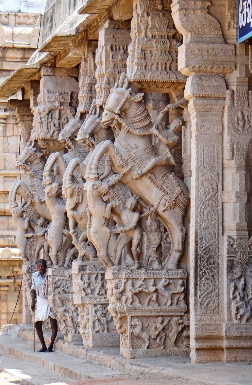 Sesaharayar Mandapam art work, Ranganathaswamy Temple, Srirangam